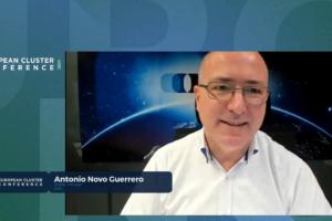 ECA´s president Antonio Novo receives Special Award for Cluster Mobilisation